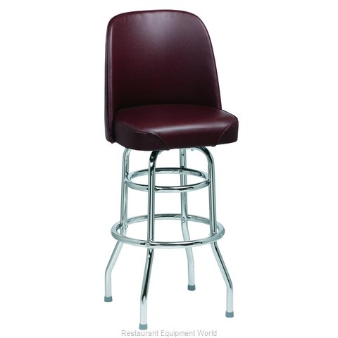 Royal Industries ROY 7722 BRN Bar Stool, Swivel, Indoor