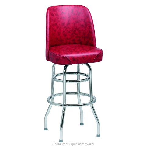 Royal Industries ROY 7722 CRM Bar Stool Swivel Indoor