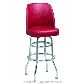 Royal Industries ROY 7722 CRM Bar Stool, Swivel, Indoor