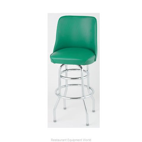 Royal Industries ROY 7722 GN Bar Stool Swivel Indoor