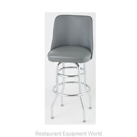Royal Industries ROY 7722 GY Bar Stool Swivel Indoor