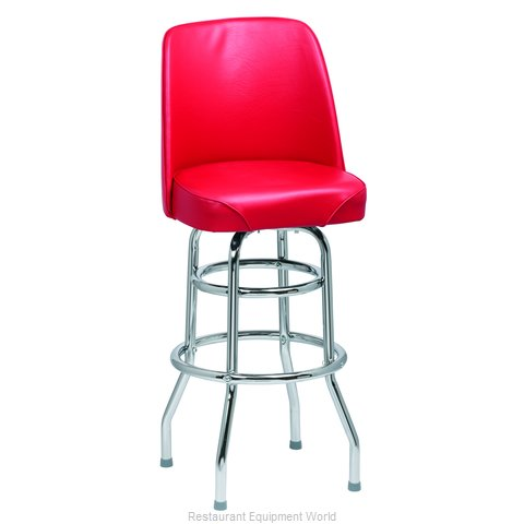 Royal Industries ROY 7722 R Bar Stool, Swivel, Indoor (Magnified)