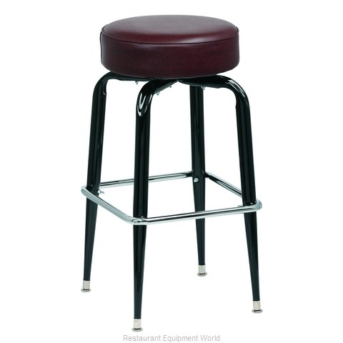 Royal Industries ROY 7723 BRN Bar Stool Swivel Indoor