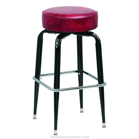 Royal Industries ROY 7723 CRM Bar Stool Swivel Indoor (Magnified)
