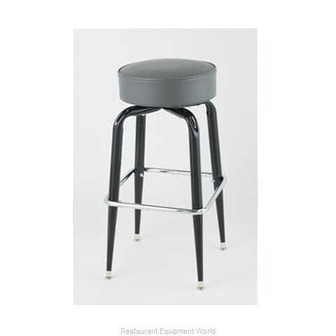 Royal Industries ROY 7723 GY Bar Stool Swivel Indoor