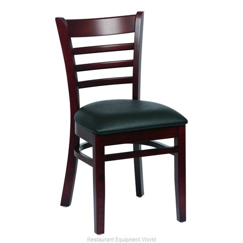 Royal Industries ROY 8001 W BLK Chair Side Indoor