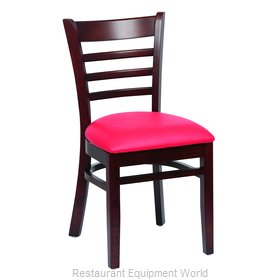 Royal Industries ROY 8001 W RED Chair, Side, Indoor