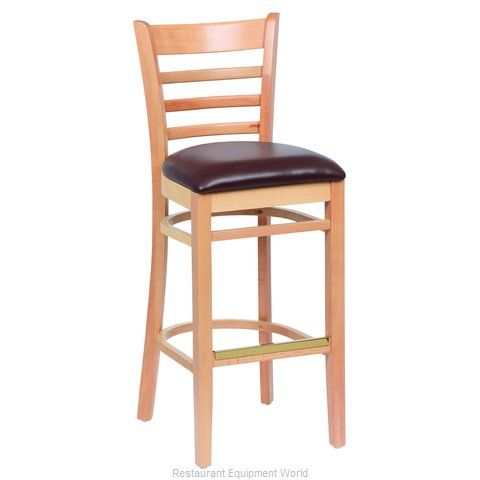 Royal Industries ROY 8002 N BRN Bar Stool Indoor