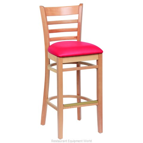 Royal Industries ROY 8002 N RED Bar Stool Indoor (Magnified)