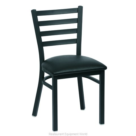 Royal Industries ROY 9001 BLK Chair Side Indoor