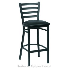 Royal Industries ROY 9002 BLK Bar Stool, Indoor