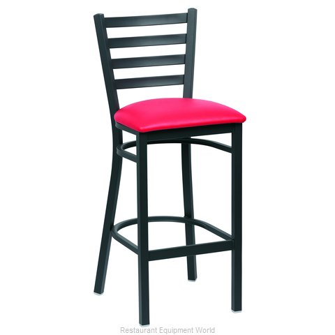 Royal Industries ROY 9002 RED Bar Stool Indoor