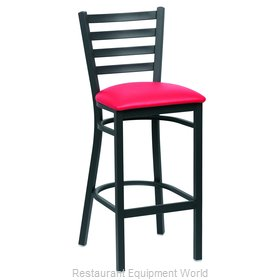 Royal Industries ROY 9002 RED Bar Stool, Indoor