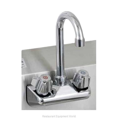 Royal Industries ROY HS FS 4 Faucet Wall / Splash Mount