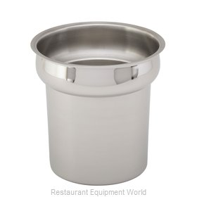 Royal Industries ROY IST 6 1/2 Vegetable Inset For Steam Table
