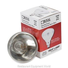Royal Industries ROY LB H WHT Heat Lamp Bulb