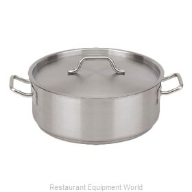 Royal Industries ROY SS BRAZ 25 Induction Brazier Pan