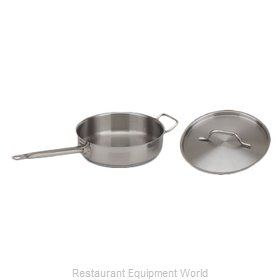 Royal Industries ROY SS SAUTE 7 Induction Saute Pan