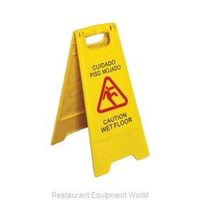 Royal Industries ROY WS CA Sign, Wet Floor