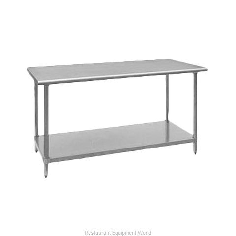 Royal Industries ROY WT 3096 Work Table 96 Long Stainless steel Top