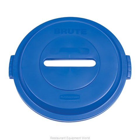 Rubbermaid 1788378 Trash Receptacle Lid / Top (Magnified)