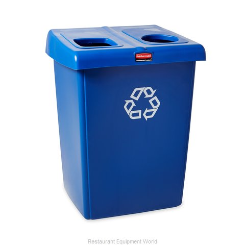 Rubbermaid 1792339 Waste Receptacle Recycle