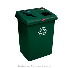 Rubbermaid 1792340 Waste Receptacle Recycle