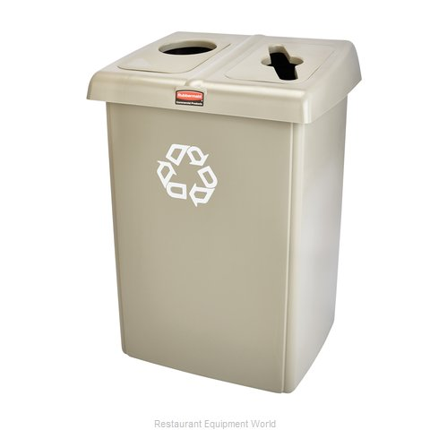 Rubbermaid 1792371 Recycling Receptacle / Container