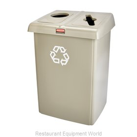 Rubbermaid 1792371 Waste Receptacle Recycle