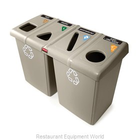 Rubbermaid 1792374 Waste Receptacle Recycle