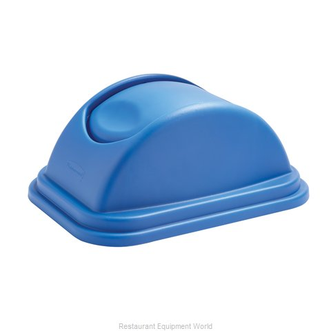 Rubbermaid 1829407 Waste Basket Lid (Magnified)