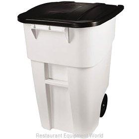Rubbermaid 1829410 Trash Receptacle, Mobile