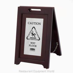 Rubbermaid 1867508 Sign, Wet Floor