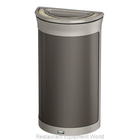 Rubbermaid 1969876 Trash Receptacle, Outdoor/Indoor
