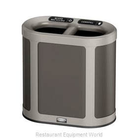 Rubbermaid 1970034 Trash Receptacle, Outdoor/Indoor