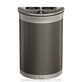 Rubbermaid 1970112 Trash Receptacle, Outdoor/Indoor