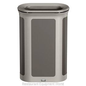 Rubbermaid 1970122 Trash Receptacle, Outdoor/Indoor