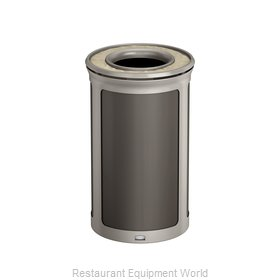 Rubbermaid 1970152 Trash Receptacle, Outdoor/Indoor