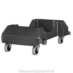 Rubbermaid 1980602 Trash Receptacle, Dolly