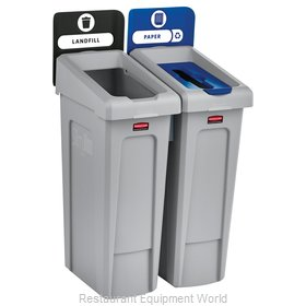 Rubbermaid 2007915 Recycling Receptacle / Container