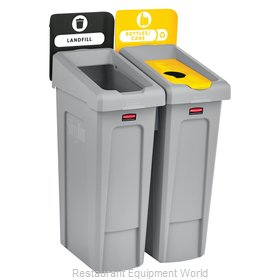 Rubbermaid 2007916 Recycling Receptacle / Container