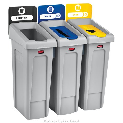 Rubbermaid 2007917 Recycling Receptacle / Container