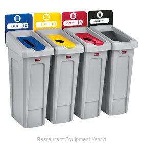 Rubbermaid 2007919 Recycling Receptacle / Container
