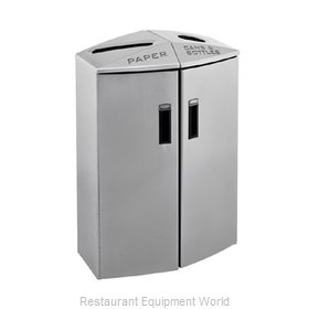 Rubbermaid 3485990 Waste Receptacle Recycle