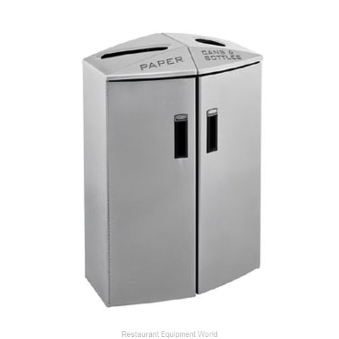 Rubbermaid 3485992 Waste Receptacle Recycle