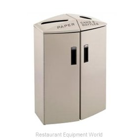 Rubbermaid 3486004 Waste Receptacle Recycle