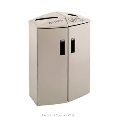 Rubbermaid 3486005 Waste Receptacle Recycle