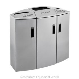 Rubbermaid 3486008 Waste Receptacle Recycle