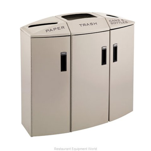 Rubbermaid 3486009 Waste Receptacle Recycle