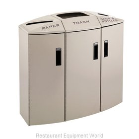 Rubbermaid 3486011 Waste Receptacle Recycle
